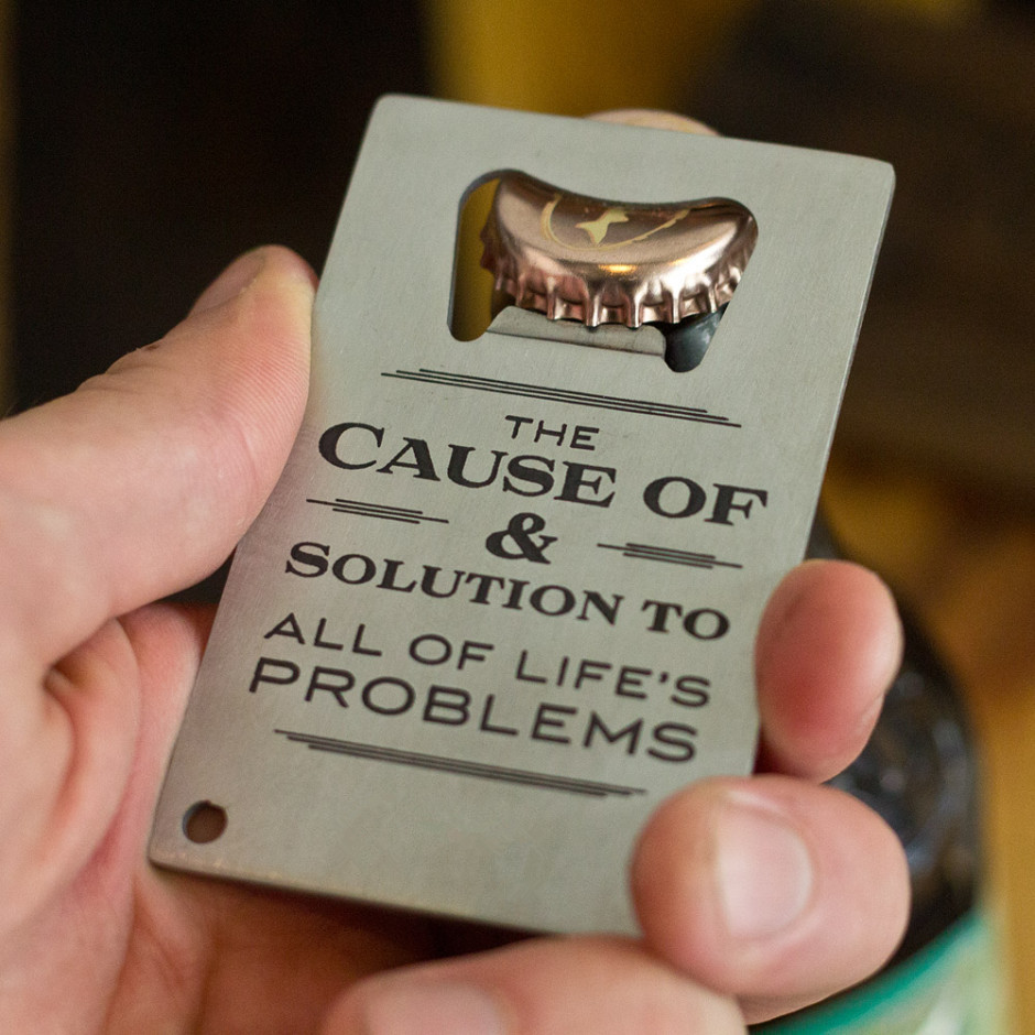 compare prices on metal business cards bottle opener online