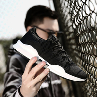 2019 New Men Shoes Sneakers Casual Breathable Air Mesh Shoes Zapatillas Hombre Deportiva Sapato Masculino Adulto Big Size