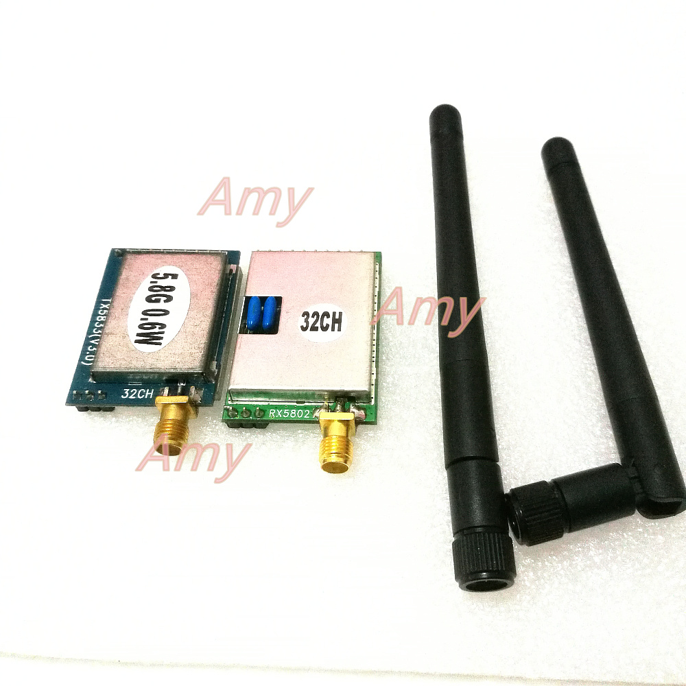 5.8G 600MW transmitter receiver module, recommended aerial FPV dedicated one set5.8G 600MW transmitter receiver module, recommended aerial FPV dedicated one set