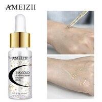 AMEIZII 24K Gold Six Peptides Serum Hyaluronic Acid 2