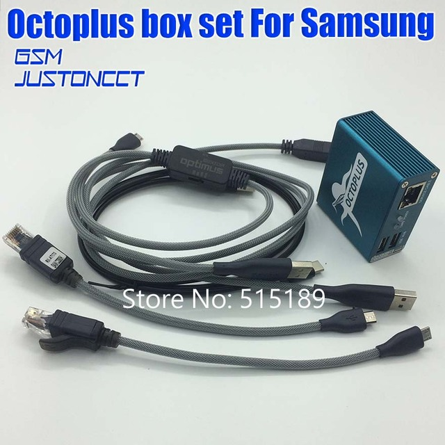 2018 octoplus /octopus box for samsung activation for samsung repair and  flash and unlock +5 cables free fast shipping