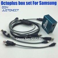 2020 octoplus /octopus box para samsung ativação para reparação e flash samsung e desbloqueio + 5 cabos