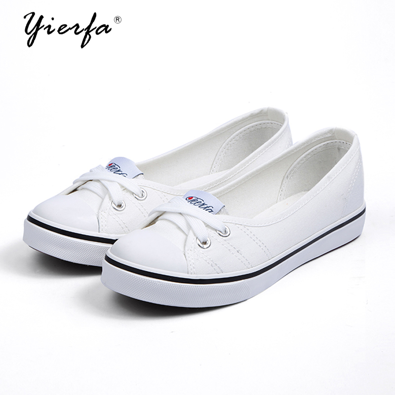 Women shoes canvas shoes comfortable shoes slip-on Korean tide students set foot  flat shoes(China)