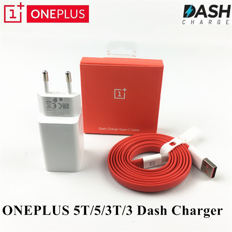D'origine Oneplus 6 Dash Chargeur, 5 v 4A un plus 5 t 5 3 t 3 USB Rapide Rapide Adaptateur De Charge USB 3.1 Type- C Données Nouilles Dash Câble