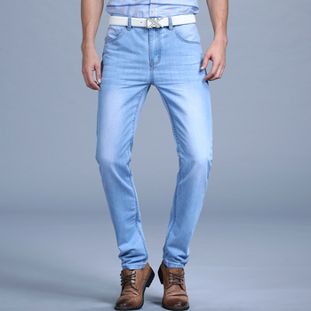 Thin Spring Summer Jeans 1