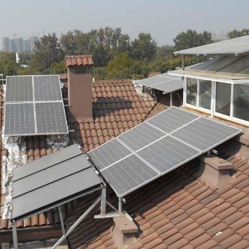 Módulo de carga Solar Singfo 20 v 250 w 4 piezas sistema de energía Solar fotovoltaica 1000 W 1KW energía Solar sistema para el hogar en la red