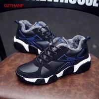 Брендовые зимние меховые теплые зимние ботинки для мужчин; кроссовки; повседневная обувь; Мужская обувь для взрослых; дышащая обувь; Zapatillas ...