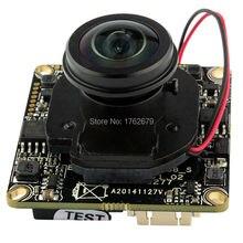 1080 P МПК доска Sony IMX222 2MP Панорамный широкоугольный IP камера Основной плате модуля с 180 градусов рыбий глаз объектив ик-переключатель