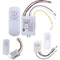 NI5L Wireless ON/OFF 1/2/3 Maneras 220 V de La Lámpara de Control Remoto Transmisor Receptor Libre gratis