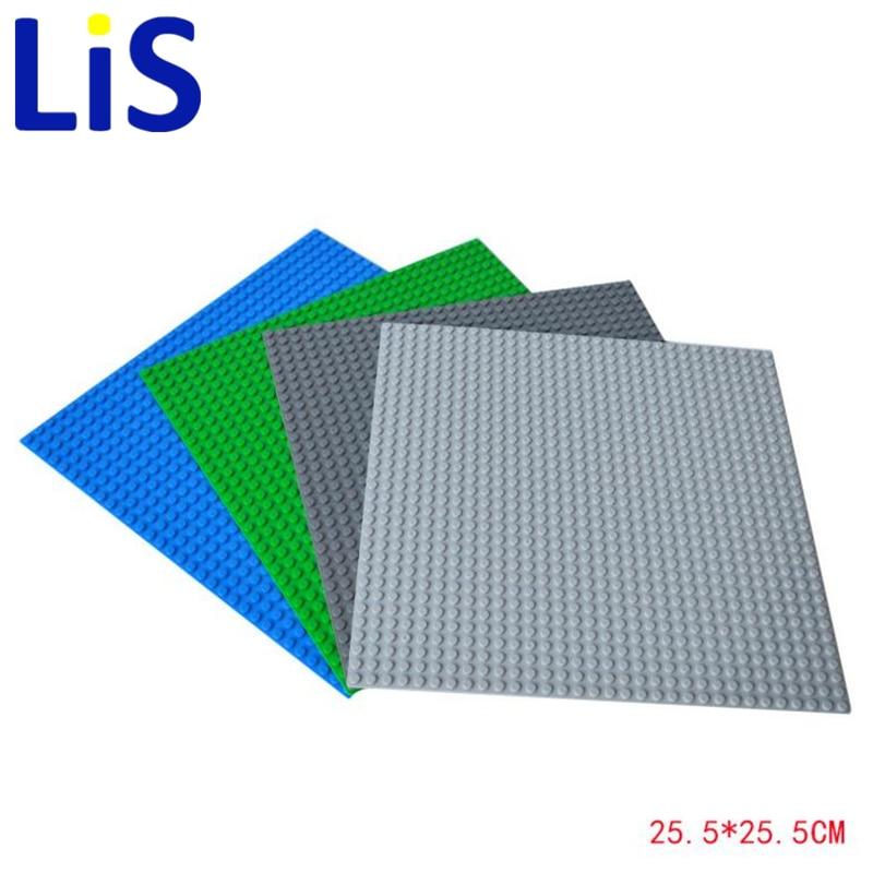 Lis good quality 1 pcs Building Base Plate for lepin Gray 32*32 Dots Best Gift for Kid Education модель машины chun base 1 32