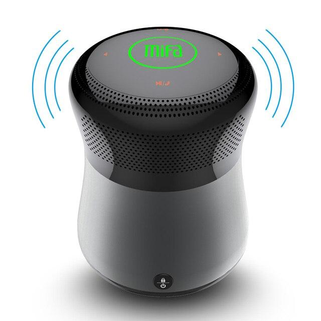 Mifa A3 Touchable Bluetooth אלחוטי רמקול קול 10WStereo מוסיקה להקיף מערכת עמיד למים Soundbar עם בס רמקול