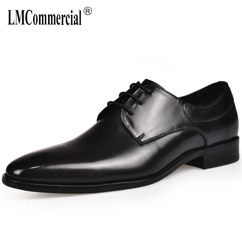 autumn winter High Quality Genuine Leather mens business shoes breathable casual shoes all-match cowhide Men Dress Shoes maleautumn winter High Quality Genuine Leather mens business shoes breathable casual shoes all-match cowhide Men Dress Shoes male