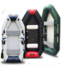 Free shipping professional inflatables kayak fishing boat inflatable laminated  wear-resistant boat for 1~5persons