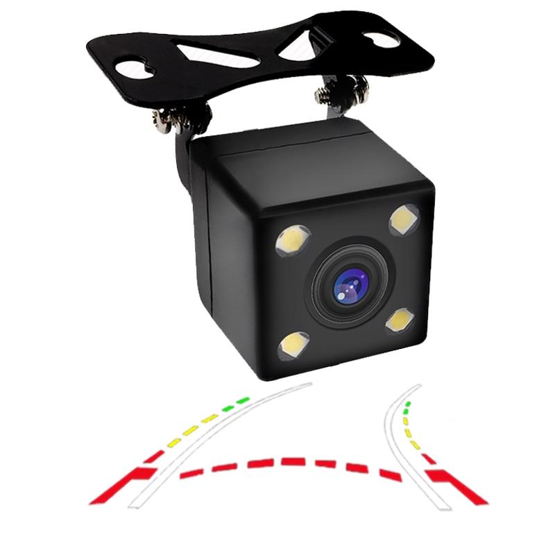CCD 600Line Dinamik Trayektoriya Arxa ehtiyat kamera benz audi vw bmw toyota honda KIA üçün dəyişkən əyri traektoriya park xətti