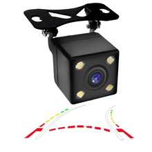 CCD 600Line Dynamic rajectory Rear backup view camera variable parking line for benz audi vw bmw toyota honda KIA...unversal CAM