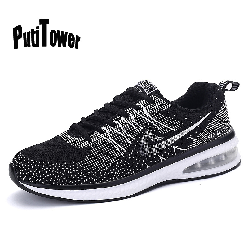 Basket Homme Femme Plus Size Men Women Running Shoes Flyknit Racer Cushion Sneakers Joggings Zapatos Mujer Chaussure Hombre