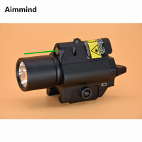 Green laser tactical weapon light Flashlight