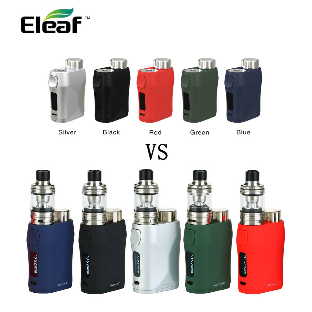 Original Eleaf iStick Pico X avec MELO 4 D22 Kit 75 W avec réservoir de 2 ml en bobine de EC-M 0.15ohm E Cigarette vape kit VS Ijust s