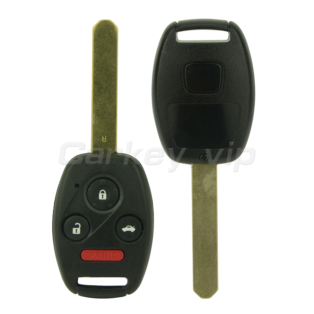 Remotekey Remote head car key MLBHLIK-1T for Honda CRV FIT 2010 2011 2012 3 button with panic 313.8Mhz ID46 chip