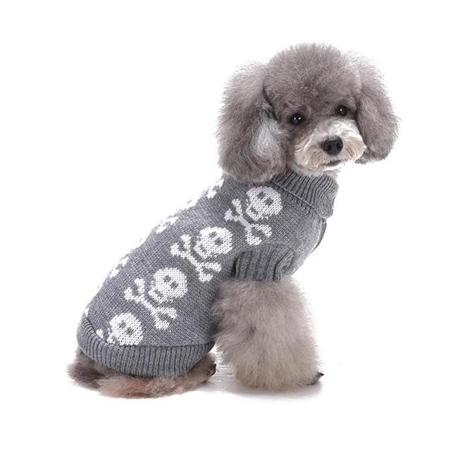 Lodogsow ropa para mascotas perro suéter caliente del ganchillo del ...