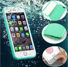 For iPhone 7 Case Slim Luxury Shockproof Hybrid Rubber Waterproof Soft Silicone TPU Touch Cover Cases for iPhone 6 Plus 6S 5 bag