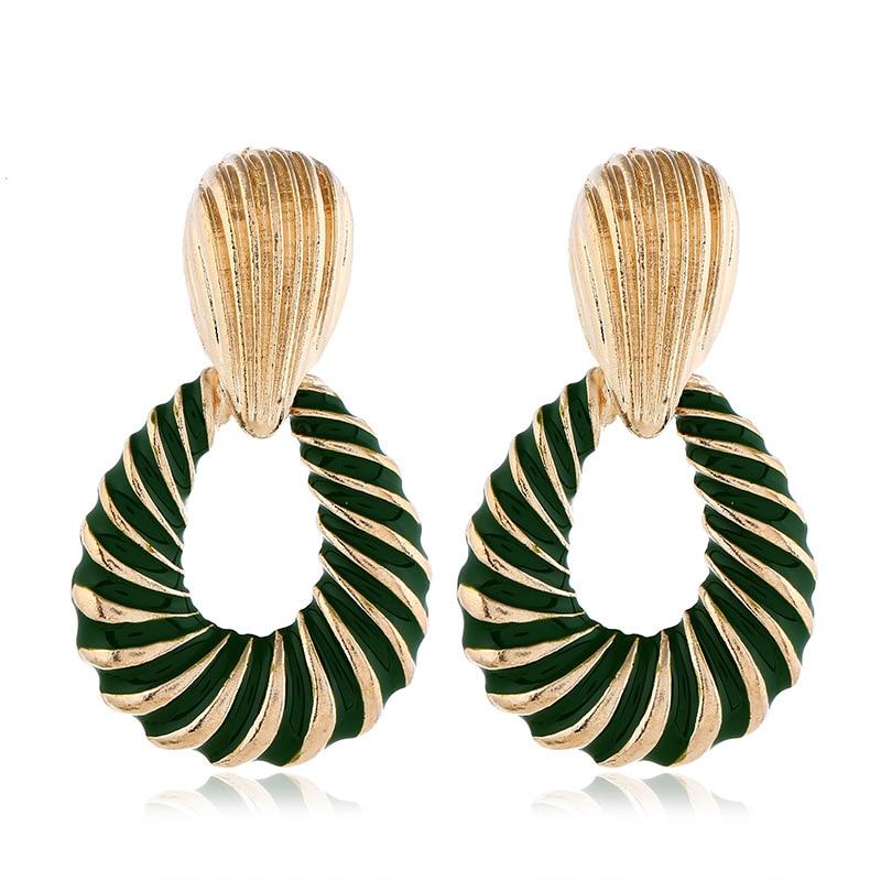 Trendy Dangle Earrings For Women Bohemia Jewelry Drop Earring Geometric Wedding Party Vintage Gifts