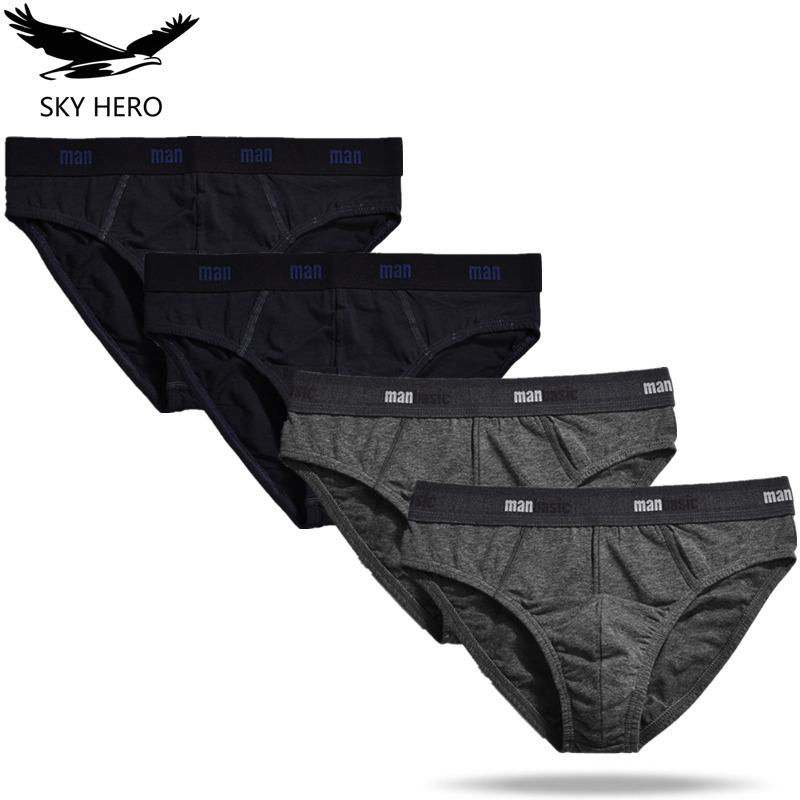 4pcs/lot Briefs Men Underwear Mens Calzoncillos Hombre Slip Sexy Men's Underwear Man Underpants Male Jockstrap Brief Underware