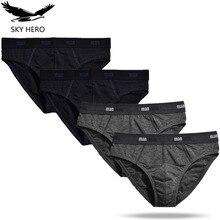 4pcs/lot Briefs Men Underwear Mens Calzoncillos Hombre Slip Sexy Men's Underwear