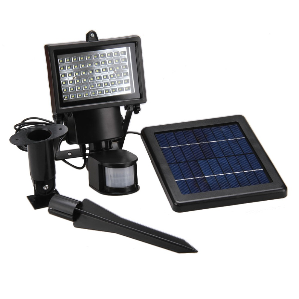 Newest 9v 3w 60 led solar power street light pir motion sensor newest 9v 3w 60 led solar power street light pir motion sensor light garden security lamp outdoor street waterproof wall lights in solar lamps from lights mozeypictures Images