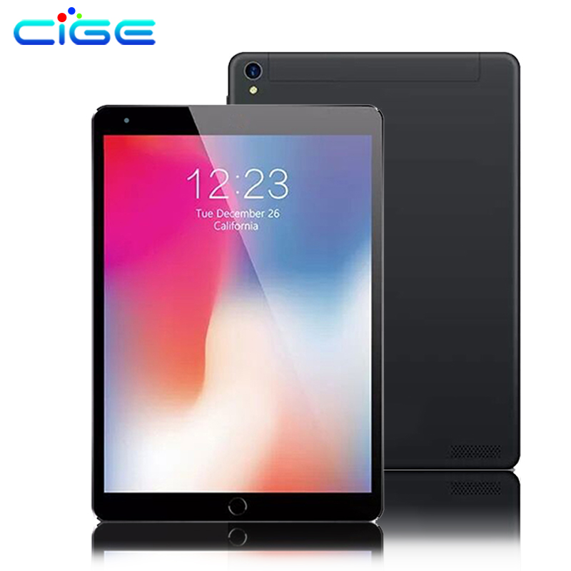 CIGE 2019 newest 10.1 inch Tablet PC Octa Core 4GB RAM 32GB ROM Dual SIM Cards Android 7.0 Wifi 3G 4G LTE Tablets 10 10.1 PAD cige tablet 10 1 inch octa core 4gb ram 32gb rom android 6 0 tablet pc 32gb 1280 800 ips dual cameras 3g 4g lte tablets gifts
