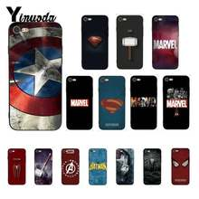 Yinuoda Amazing Marvel Superman Poison SHIELD Spiderman สำหรับ iPhone 8 7 6 6S 6Plus X XS MAX 5 5S XR 11 11pro 11 PROMAX(China)