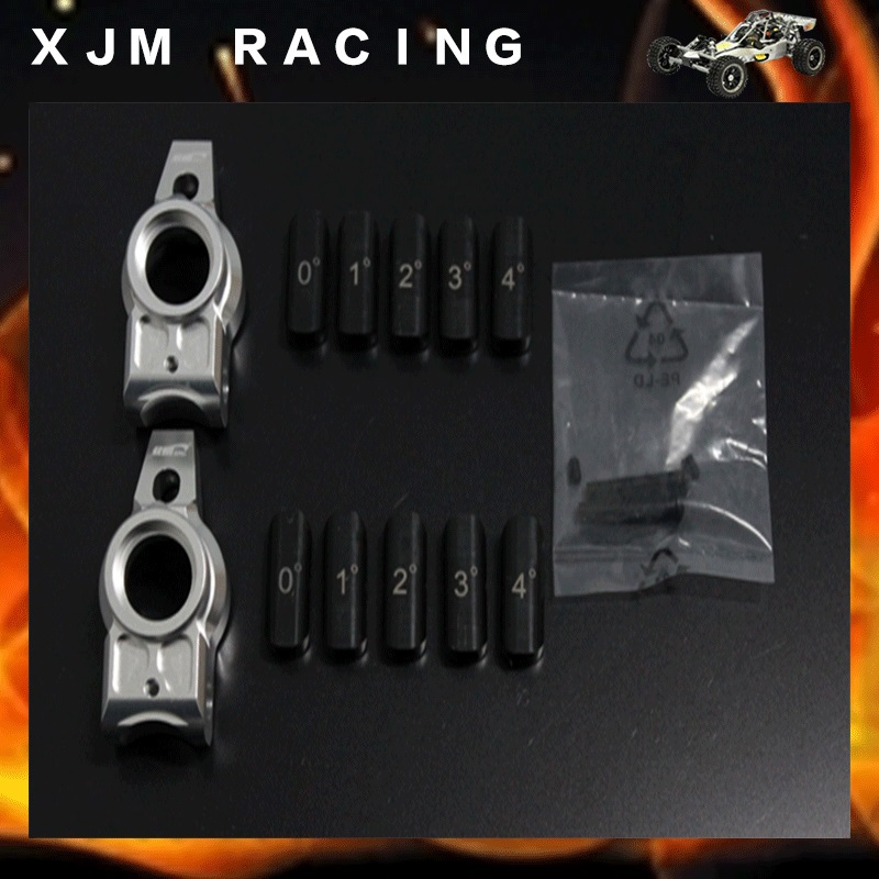 1/5 rc car racing parts,Alloy rear wheel hub carrier(5degree corner)set fit hpi rovan km baja 5b T1000GT baja metal parts new cnc alloy clutch carrier 1 5 rovan hpi km baja 26 29 30 5cc rc car engine parts