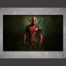 1 piece canvas painting movie poster Deadpool HD posters and prints canvas painting for living room No Frame