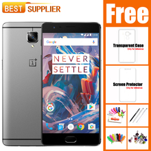 """Oneplus 3 A3000 Oneplus 3T 6GB RAM 64GB/128GB ROM Snapdragon 820 5.5"""" Android 6.0 Mobile Phone Fingerprint 3000mAh Dash Charge"""