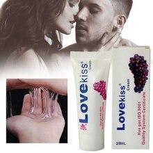 25 мл Виноградная Ароматизированная смазка для интимного пользования гелевая луба съедобная секс повышение массажное масло безопасная смазка Секс Смазка для ануса