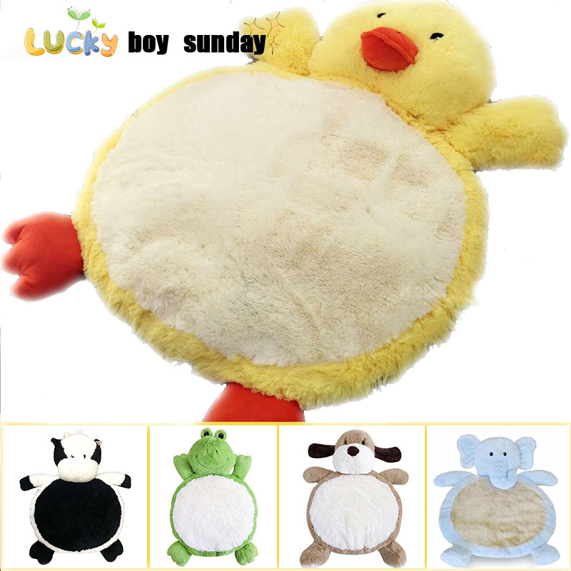 Lucky Boy Sunday Child Climb Pad Cute Dog Elephant Plush Animal Baby Play Mat Baby Gym Mat,children Developing Carpet Baby Toy