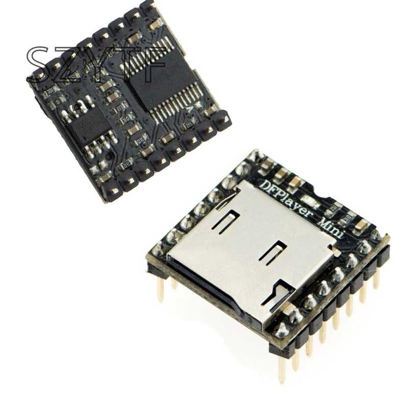Mini MP3 Player Module with Simplified Output Speaker for  UNO diy