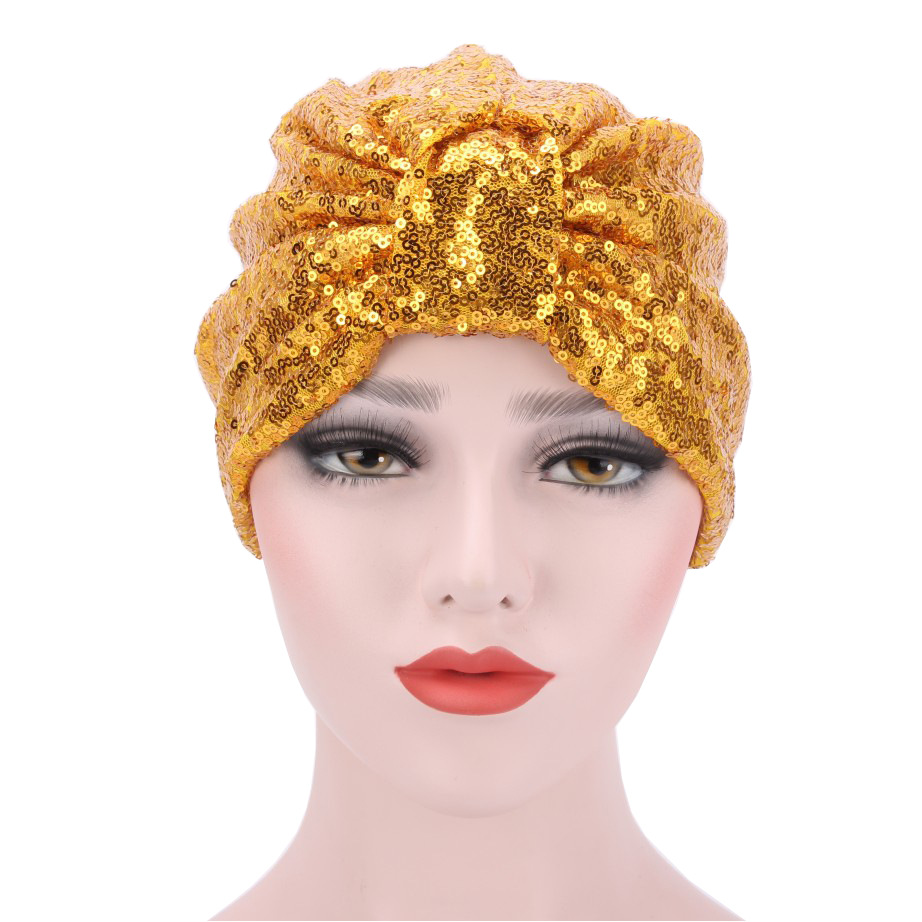 Ba178131 2017New Turban India hat,fashion shimmer sequin skullcap,solid India's fall&summer beanies samantha young fall from india place