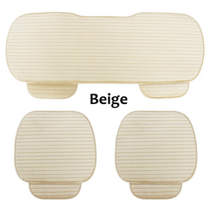 Image 3 - Capa para assento traseiro e dianteiro, almofada antiderrapante, acessórios automotivos, protetor universal, assento, almofada, mantém quente inverno