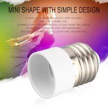 New E27 to E14 Socket Light Bulb Lamp Holder Adapter Plug Extender Lampholder NE