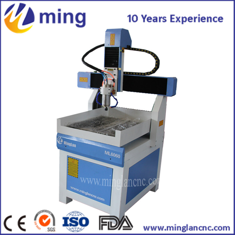 1.5KW 3 Axis Stone CNC ROUTER 6090, mini CNC Engraving Machine for metal marble wood mini 6090 desktop 3 axis cnc carving machine