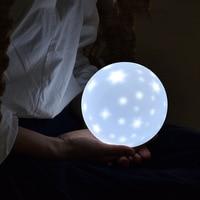 Novel Night light Toy Romantic Starry Sky LED Nightlight Projector Battery USB Nightlight Creative Birthday Toys for Children Ch
