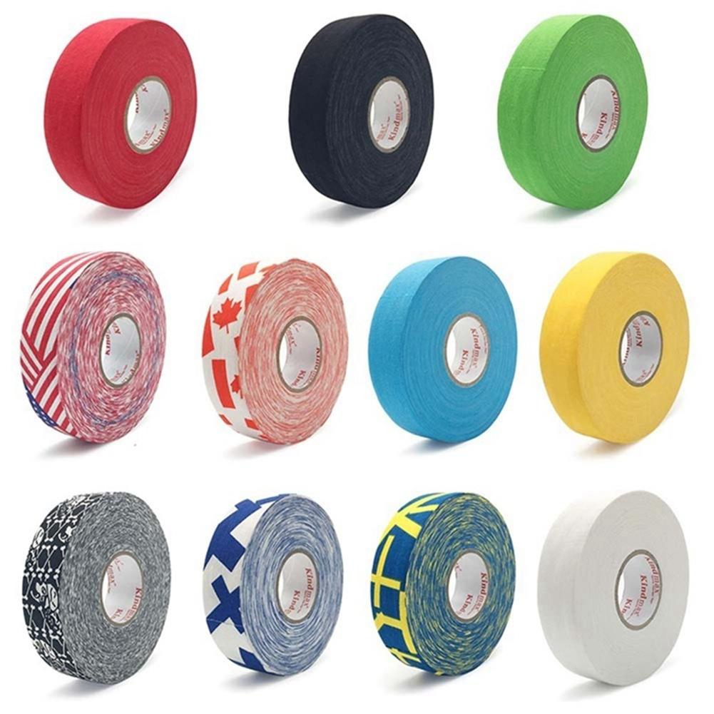 Ice Hockey Tape Jersey Badminton Handle Bike Grip Handlebar Tape Steering Wheel Cover Anti-slip Cloth Hockey Sticky Rubber Tape