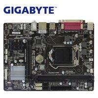 LGA 1150 Für Intel H81 DDR3 Gigabyte GA H81M DS2 Motherboard USB3.0 16GB H81M DS2 Desktop Mainboard Systemboard Verwendet H81M DS2|Motherboards|Computer und Büro -