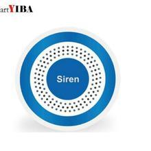 SmartYIBA 433 МГц Беспроводная сирена звук и вспышка сигнализация домашняя сирена работа с wifi домашняя охранная сигнализация 100 дБ сирена