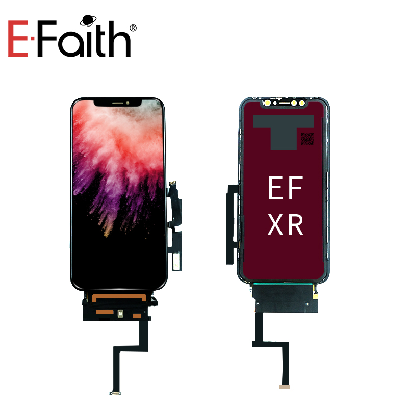 EFaith 100 test EF OEM For iPhone Xr LCD Display Touch Screen With Digitizer Replacement Assembly