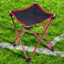 Aluminum Lightweight Folding Fishing Chair Professional Camping Stool Seat Chair Portable Chair For Fishing Picnic Beach Party