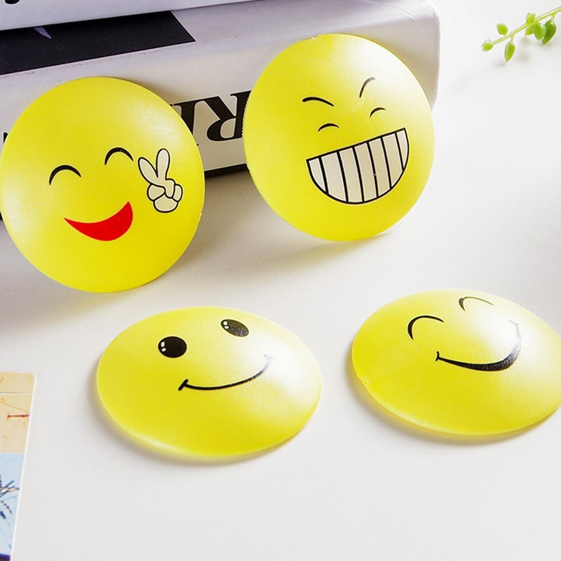 New 3D Wall Stickers Rubber Door Handle Knob Emoji Crash Pad Wall Protector Self Adhesive Bumper StickersNew 3D Wall Stickers Rubber Door Handle Knob Emoji Crash Pad Wall Protector Self Adhesive Bumper Stickers