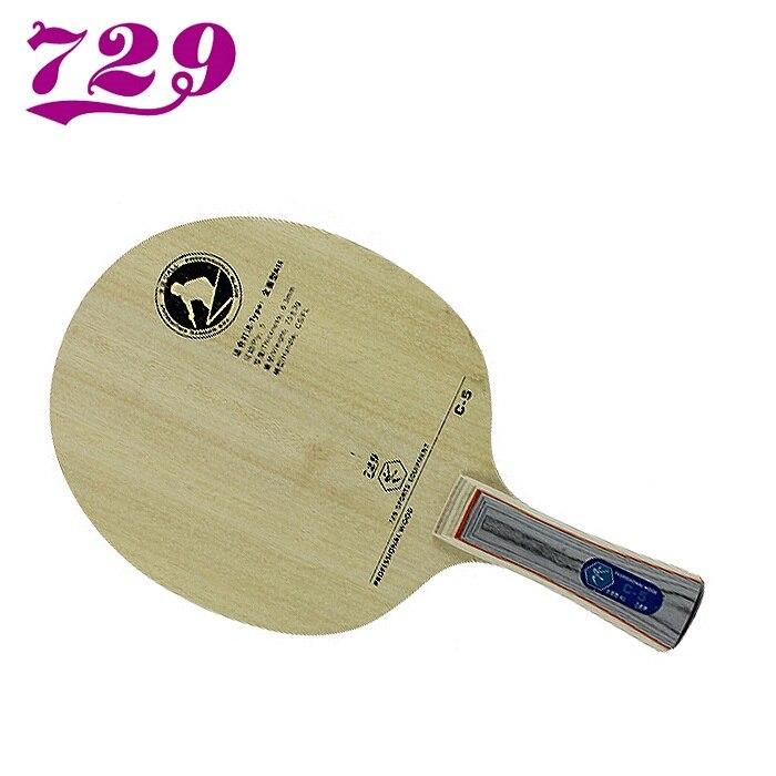 Ritc 729 amizade C-5 c5 max raquete de tênis de mesa lâmina novo ping pong