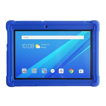 цена на MingShore Tab 3 10 Business TB3-X70F/N/L Silicone Case Rugged Shockproof Cover For Lenovo Tab 2 A10-70F 10.1 inch Tablet